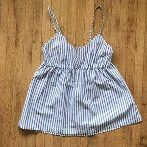 J. Crew Intimates & Sleepwear - Jcrew Shirting Stripe Pajama Camisole NWOT